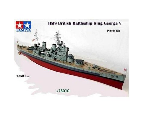 Tamiya 1/350 British King George V