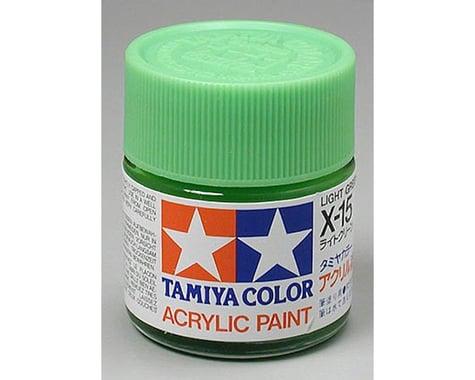 Tamiya X-15 Light Green Gloss Finish Paint (23ml)