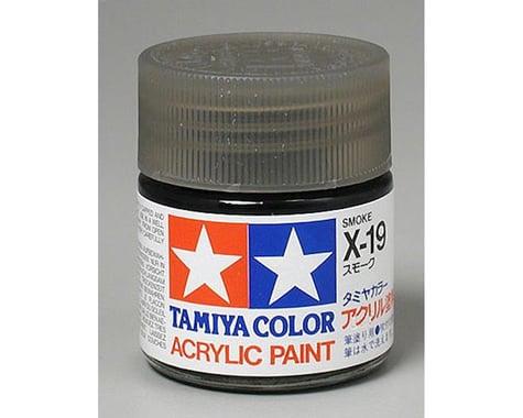 Tamiya X-19 Smoke Acrylic Paint (23ml)