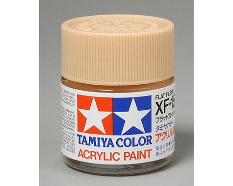 Tamiya Flat Flesh Mini Acrylic Matte Finish (6/Bx)