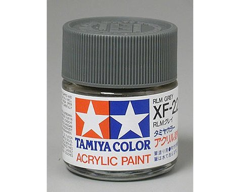Tamiya XF-22 Flat RLM Grey Acrylic Paint (23ml)