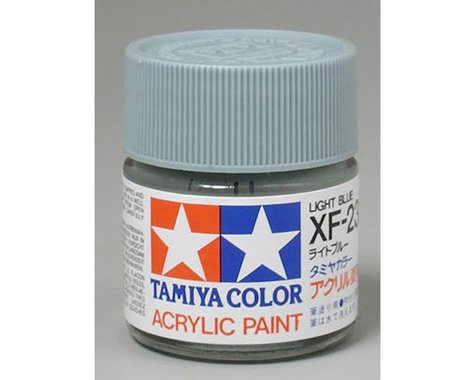 Tamiya XF-23 Flat Light Blue Acrylic Paint (23ml)