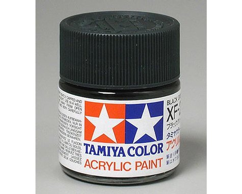 Tamiya Black Green Mini Acrylic Matte Finish (6/Bx)