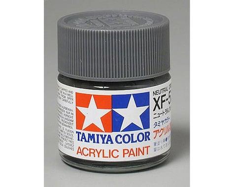 Tamiya XF-53 Flat Neutral Grey Acrylic Paint (23ml)