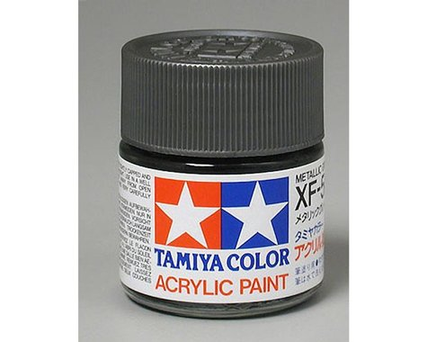 Tamiya Acrylic XF56, Flat Metal Gray