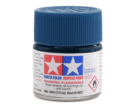 Tamiya Acrylic Mini X13 Metallic Blue Paint (10ml)