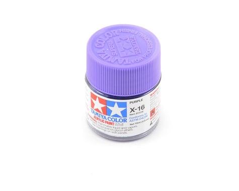 Tamiya Acrylic Mini X16 Purple Paint (10ml)