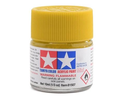 Tamiya Acrylic Mini XF3 Flat Yellow Paint (10ml)