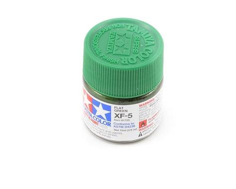 Tamiya Acrylic Mini XF5 Flat Green Paint (10ml)