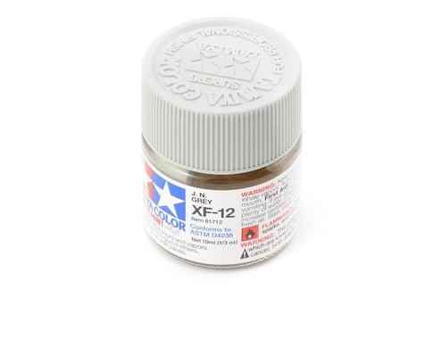 Tamiya Acrylic Mini XF12 J.N. Flat Gray Paint (10ml)