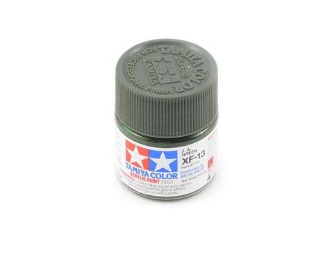 Tamiya Acrylic Mini XF13 J.A. Flat Green Paint (10ml)