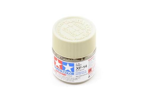 Tamiya Acrylic Mini XF14 J.A. Flat Gray Paint (10ml)