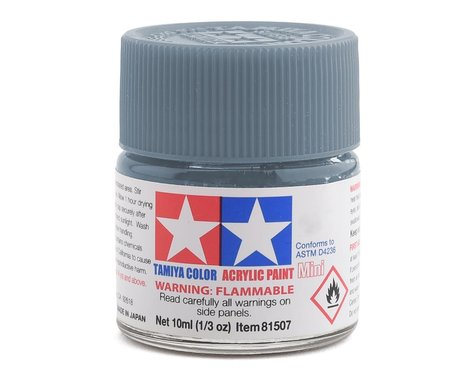 Tamiya Acrylic Mini XF23 Flat Light Blue Paint (10ml)