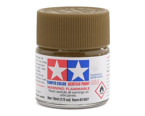 Tamiya Acrylic Mini XF49 Flat Khaki Paint (10ml)