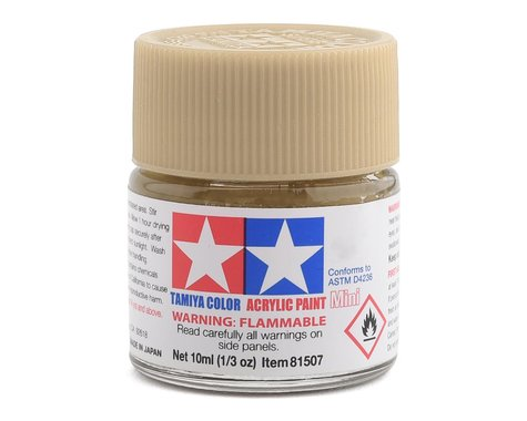 Tamiya Acrylic Mini XF57 Flat Buff Paint (10ml)