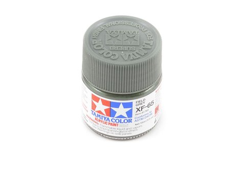 Tamiya Acrylic Mini XF65 Flat Field Gray Paint (10ml)