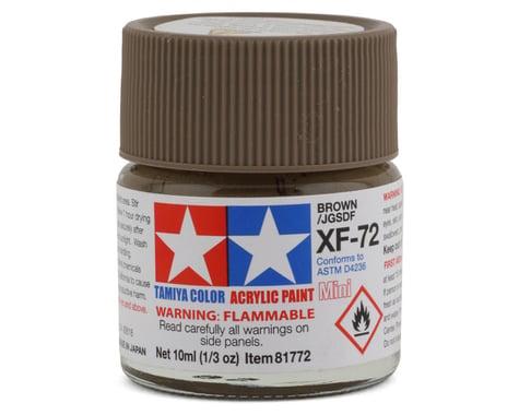 Tamiya XF-72 Flat Brown Acrylic Paint (10ml)