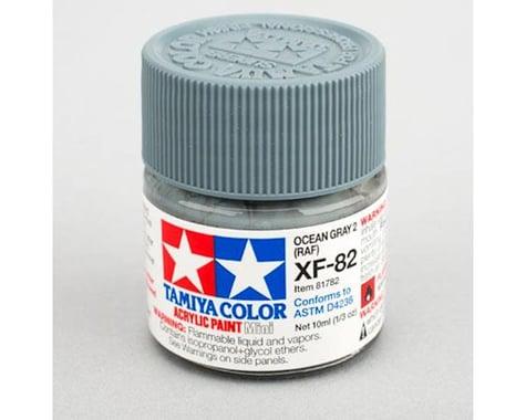 Tamiya XF-82 Flat Ocean Grey Acrylic Paint (10ml)