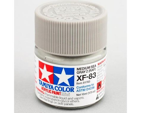 Tamiya XF-83 Flat Sea Grey Acrylic Paint (10ml)