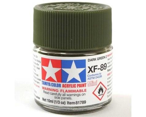 Tamiya XF-89 Flat Dark Green 2 Acrylic Paint (10ml)