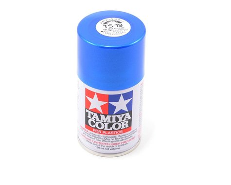 Tamiya TS-19 Metallic Blue Lacquer Spray Paint (100ml)