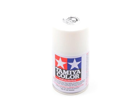 Tamiya TS-45 Pearl White Lacquer Spray Paint (100ml)