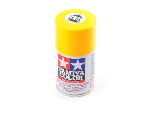 Tamiya TS-47 Chrome Yellow Lacquer Spray Paint (100ml)