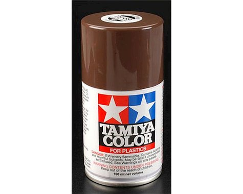 Tamiya TS-69 Linoleum Deck Brown Lacquer Spray Paint (100ml)