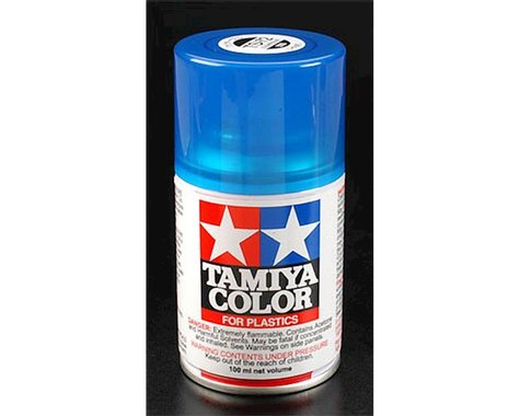 Tamiya TS-72 Clear Blue Lacquer Spray Paint (100ml)