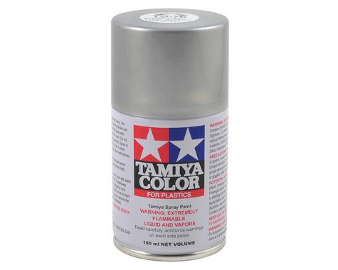 Tamiya TS-76 Mica Silver Lacquer Spray Paint (100ml)