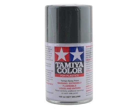 Tamiya TS-100 Semi-Gloss Bright Gun Metal Lacquer Spray Paint (100ml)