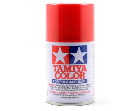 Tamiya PS-2 Red Lexan Spray Paint (100ml)
