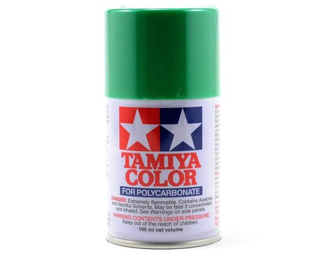 Tamiya PS-25 Bright Green Lexan Spray Paint (3oz)