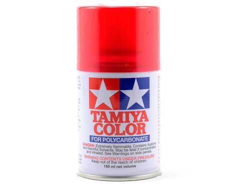 Tamiya PS-37 Translucent Red Lexan Spray Paint (100ml)