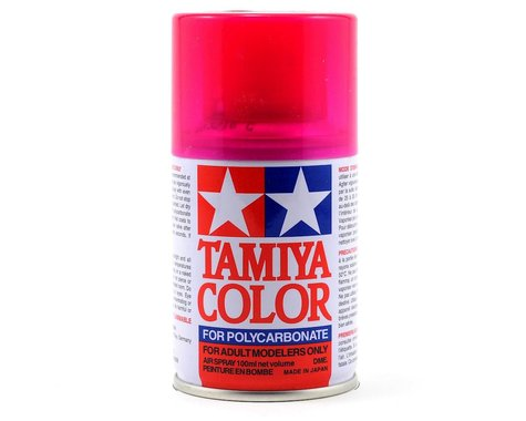 Tamiya PS-40 Translucent Pink Lexan Spray Paint (100ml)