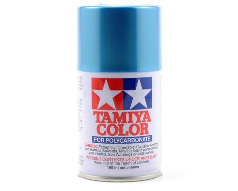 Tamiya PS-49 Sky Blue Anodized Aluminum Lexan Spray Paint (100ml)
