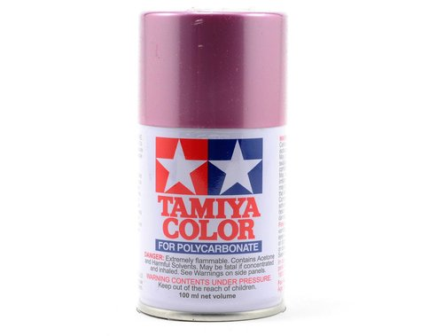Tamiya PS-50 Sparkling Pink Anodized Aluminum Lexan Spray Paint (100ml)