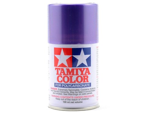 Tamiya PS-51 Purple Aluminum Lexan Spray Paint (100ml)
