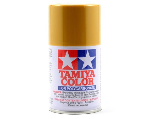 Tamiya PS-56 Mustard Yellow Lexan Spray Paint (100ml)