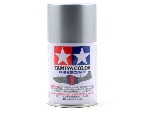 Tamiya AS-12 Bare Metal Silver Aircraft Lacquer Spray Paint (100ml)