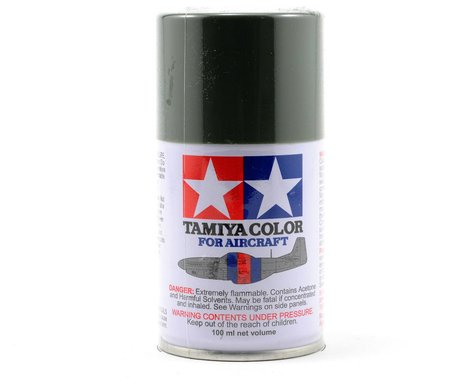 Tamiya AS-14 Olive Green Aircraft Lacquer Spray Paint (100ml) (USAF)