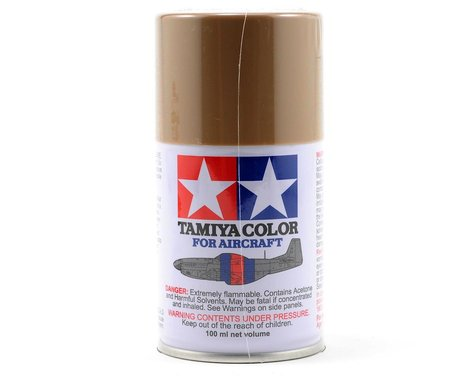 Tamiya AS-15 Tan Aircraft Lacquer Spray Paint (100ml) (USAF)
