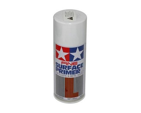 Tamiya Surface Primer Spray Paint (White) (180ml)