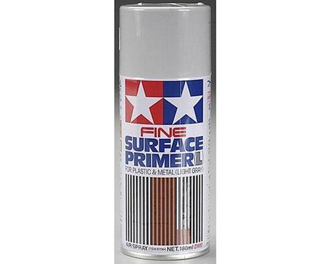 Tamiya Light Grey Fine Surface Primer Spray Paint (180ml)