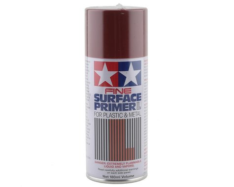 Tamiya Fine Surface Primer Paint (Oxide Red) (180ml)