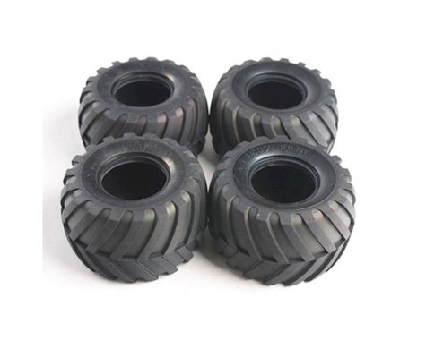 Tamiya Tires: Lunchbox/Pumpkin (4)
