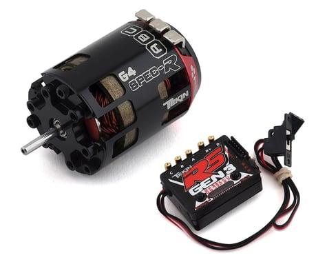 Tekin RS Gen3 Sensored Brushless ESC/Gen4 Spec R Motor Combo (17.5T)