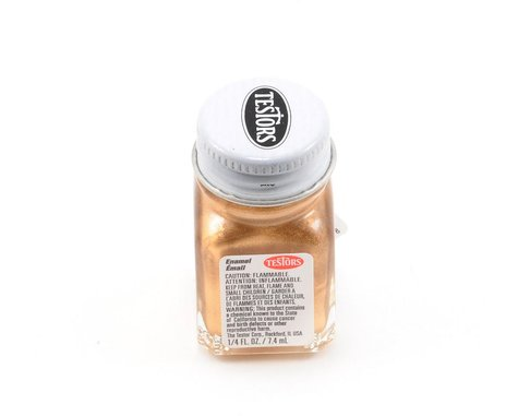 Testors Gold Enamel Paint (1/4oz)