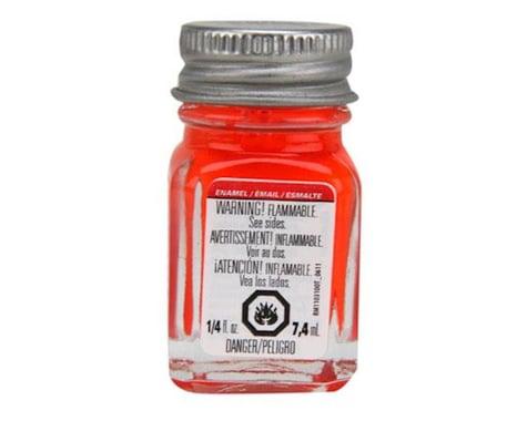Testors Enamel 1/4oz, Red Fluorescent
