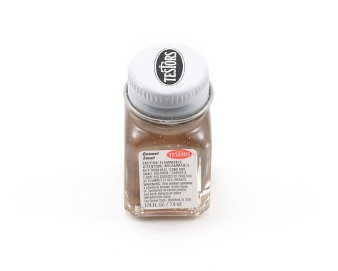 Testors Brass Enamel Paint 1/4oz